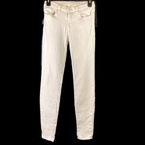 J Brand Skinny Leg Style #8110222 Size 25 Snow